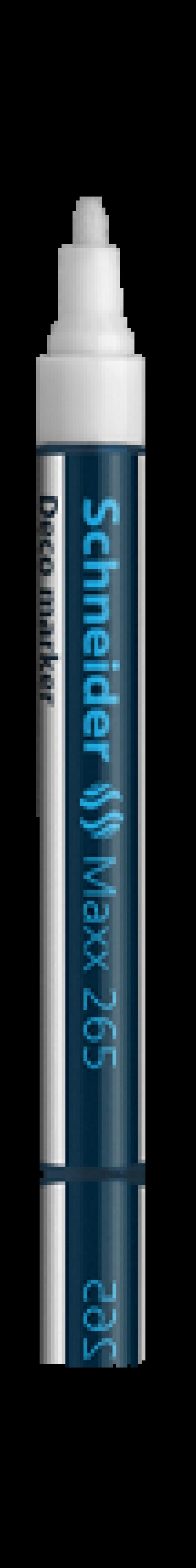 Schneider Deco Chalk Marker 1-3mm White PK10