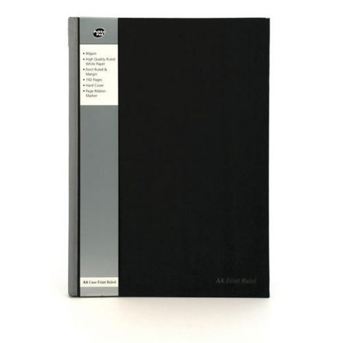 Pukka Pad A4 Casebound Ruled 192Pages Silver/Black PK5