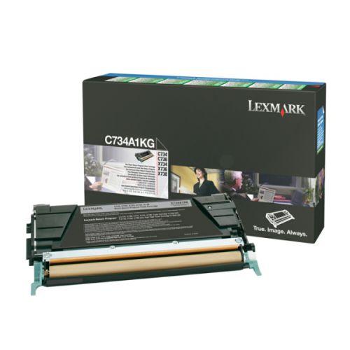 Lexmark C734A1KG Black Toner 8K