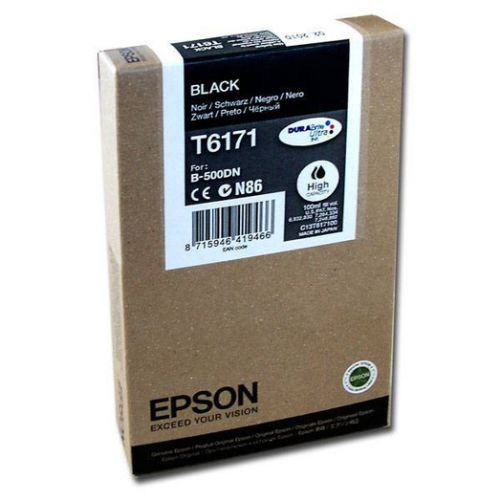 Epson C13T617100 T6171 Black Ink 100ml