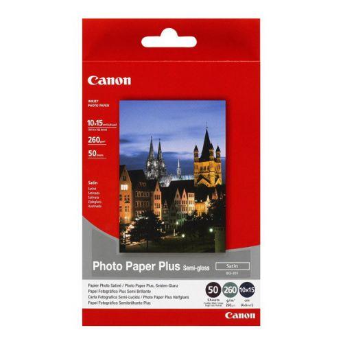 Canon 1686B015 Semi Gloss Photo Paper 10x15cm 50 Sheets