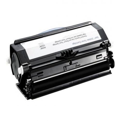 Dell C233R Use and Return High Capacity (Yield 14,000 Pages) Black Toner Cartridge 593-10839 for Dell 3330dn Laser Printer