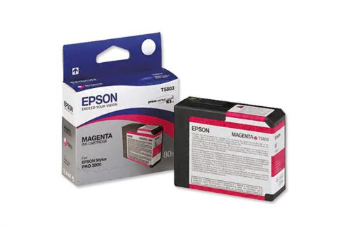 Epson C13T580300 T5803 Magenta Ink 80ml