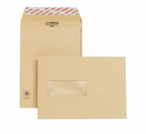 New Guardian Envelope Easy-Open C5 Window Manilla PK250