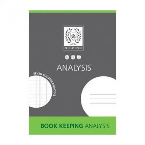 Silvine A4 Book Keeping Analysis Pad 7 Cash Columns 32 Pages (Pack 6)