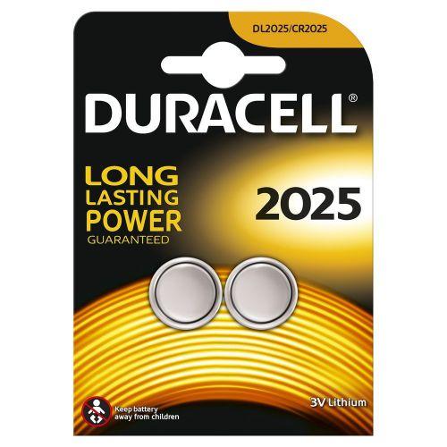 Duracell Lithium Coin 3V 2025 2PK