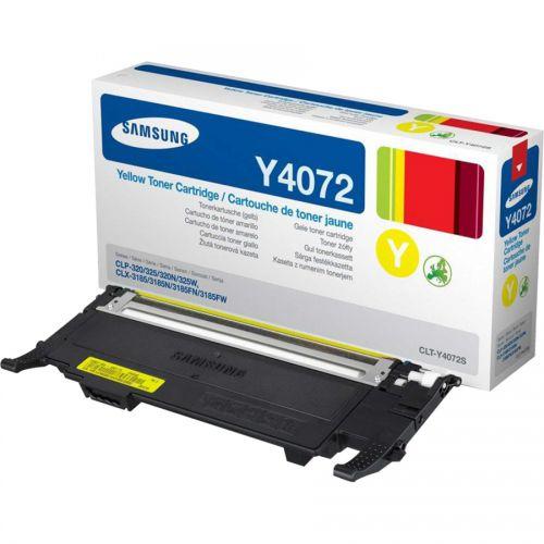 Samsung CLT Y4072S Yellow Toner 1K