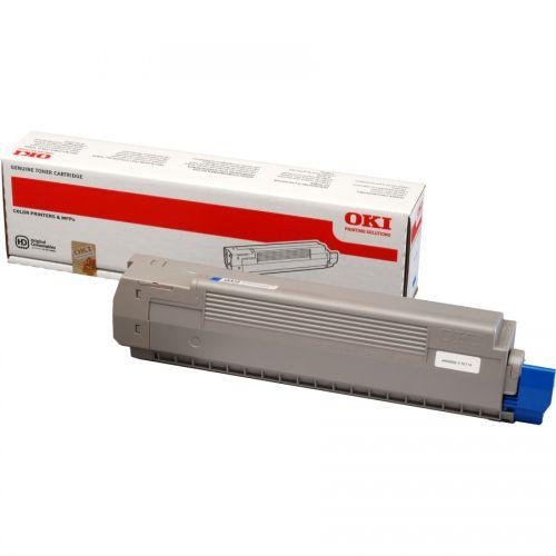 OKI 44643003 Cyan Toner 7.3K