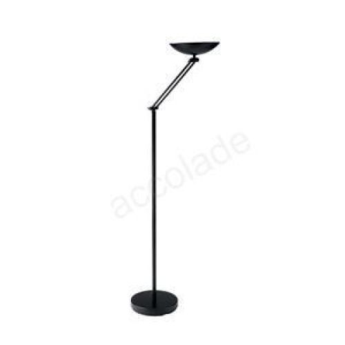 Articulated Uplighter Halogen Adjustable Arm and Bowl In Line Dimmer Switch
