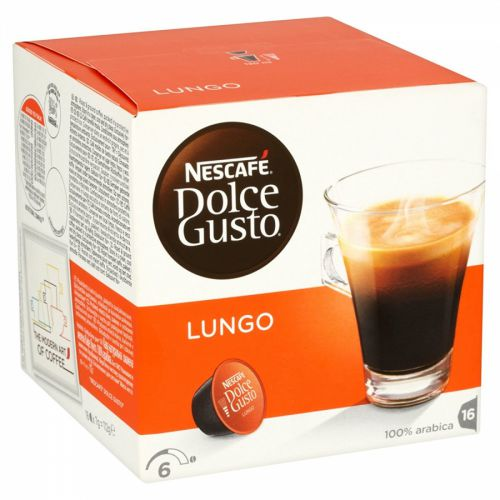 Nescafe Dolce Gusto Cafe Lungo 16 capsules (Pack 3)