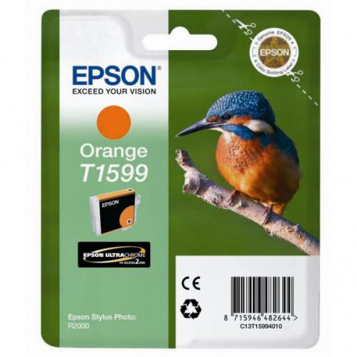 Epson C13T15994010 T1599 Orange Ink 17ml