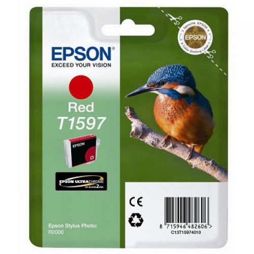 Epson C13T15974010 T1597 Red Ink 17ml
