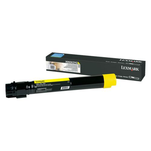 Lexmark X950X2YG Yellow Toner 24K