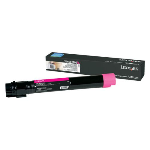 Lexmark X950X2MG Magenta Toner 24K