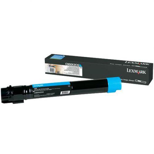 Lexmark Toner Cartridge Cyan Code C950X2CG