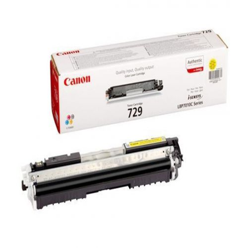 Canon 4367B002 729 Yellow Toner 1K