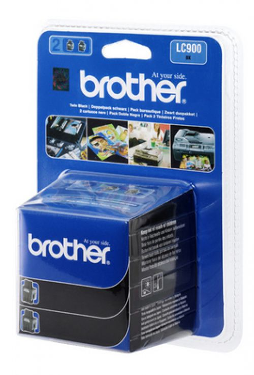 Brother LC985BK Black Ink 2x9ml Twinpack