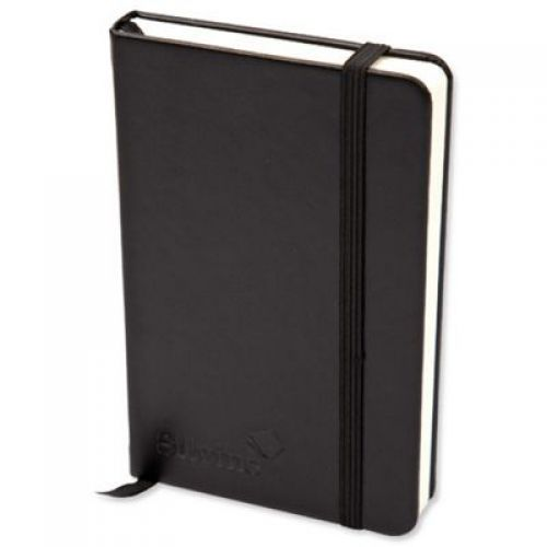 Silvine Executive Softfeel Notebook A4 Black