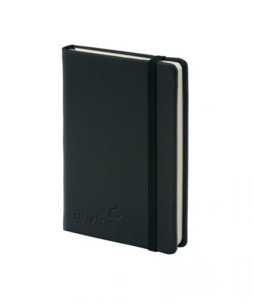 Silvine Executive Softfeel Notebook A6 Black