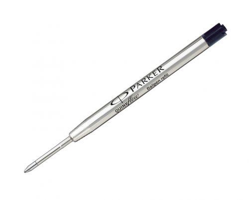 Parker Quinkflow Ball Pen refill Medium Black Blister PK1