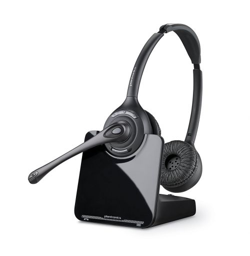 Plantronics CS520A Over The Head Binaural DECT Headset