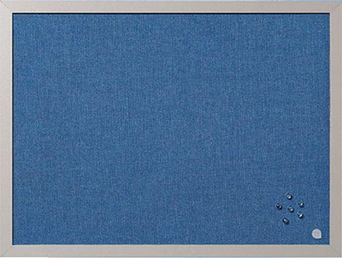 Bi-Office Blue Bells Pearl Notice Board 60x45