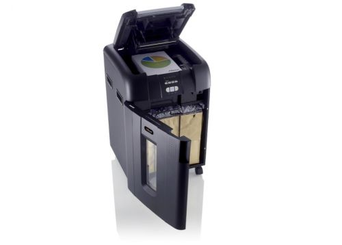 Rexel AutoPlus 600X Shredder Cross Cut P-4 Ref 2103500A [REDEMPTION]
