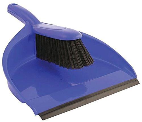 ValueX Dustpan & Soft Brush Set Blue 0906186