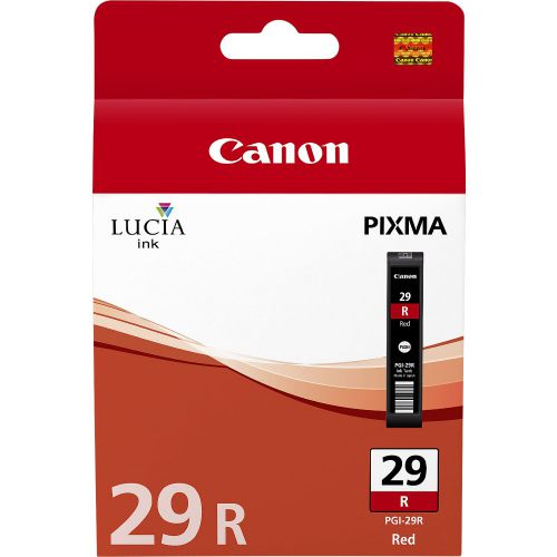 Canon 4878B001 PGI29 Red Ink 36ml