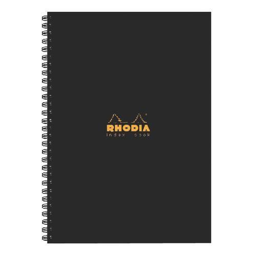 Rhodia Business Book A5 Wirebound A-Z Index 160 Page PK3