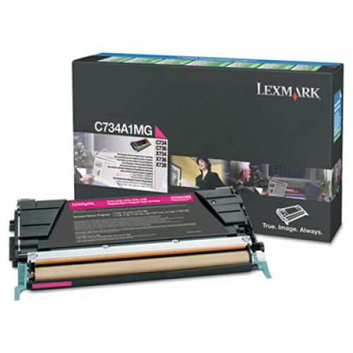 Lexmark C746A1MG Magenta Toner 7K