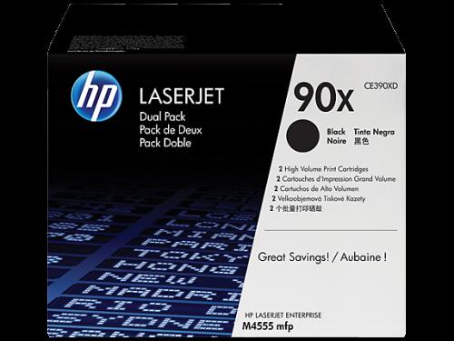 HP CE390XD 90X Black Toner Twinpack
