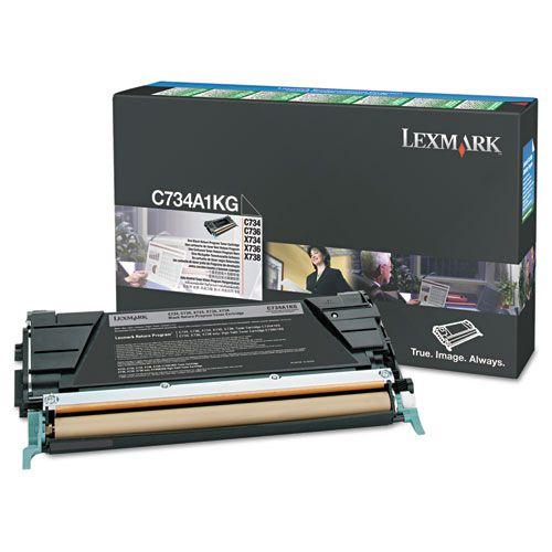 Lexmark C746H1KG Black Toner 12K