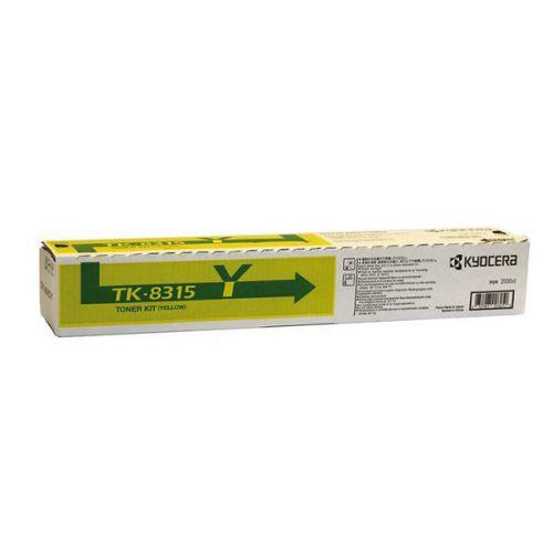 Kyocera Yellow TK-8315Y Toner Cartridge