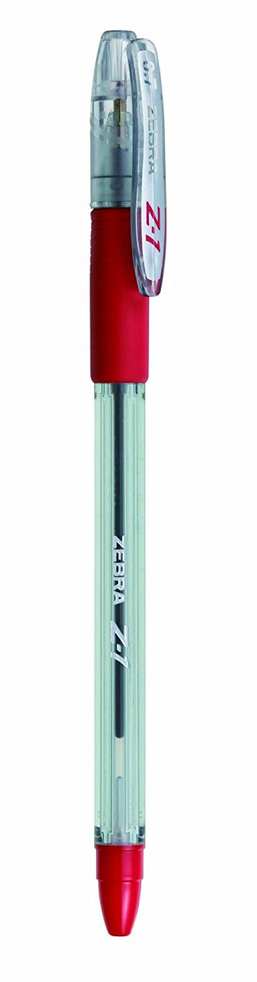 Zebra Z1 Smooth Ballpoint Pen Medium 0.7mm Red PK12