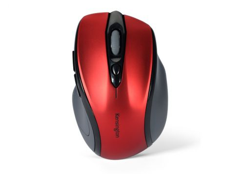 Kensington Pro Fit Mouse Mid-Size Optical Wireless Right Handed Red Ref K72422WW