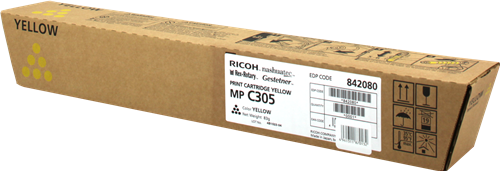 Ricoh MPC305E Yellow Toner 842080