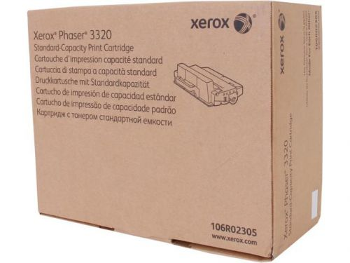 Xerox 106R02305 Black Toner 5K pages For 3320