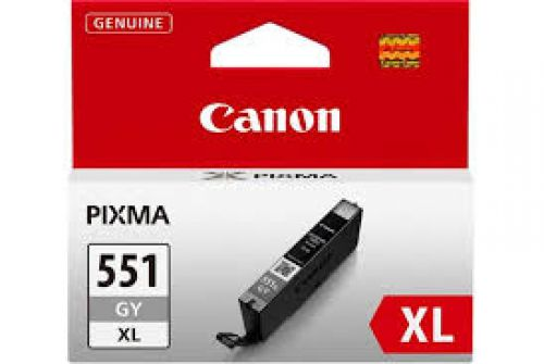 Canon Ink Cartridge Grey CLI-551XLGY