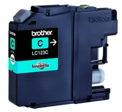 Brother LC123C Cyan Ink 6ml