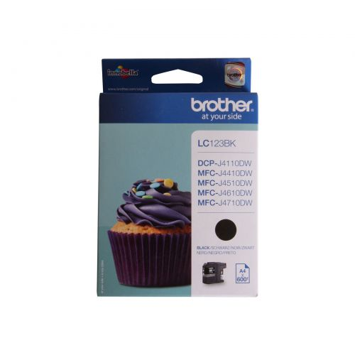 Brother LC123BK Black Ink 11ml