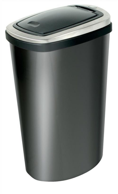 Addis Deluxe 40L Stainless Steel Bin with Press Top Lid