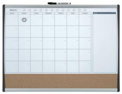 Nobo Quartet Combo Organisation Board Frame 585x430mm