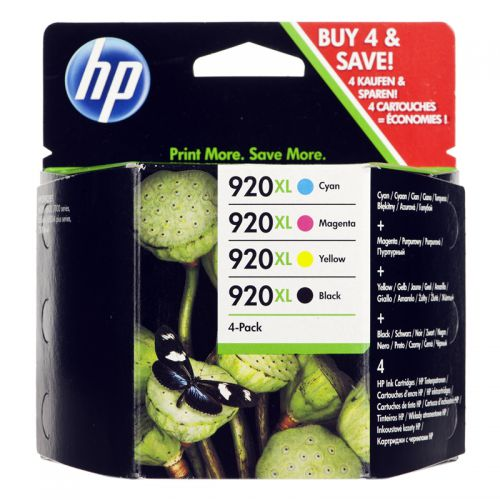 HP C2N92AE 920XL Ink Multipack 49ml and 3x 6ml
