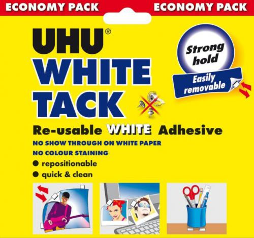 Image for UHU White Tack Economy Pack 129g Pk6