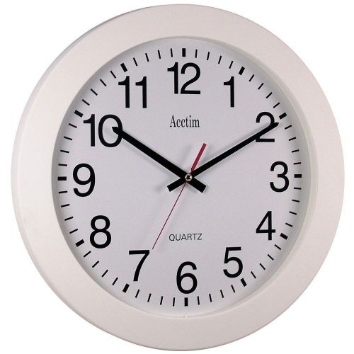 Image for Acctim Controller Wall Clock 36.8cm White