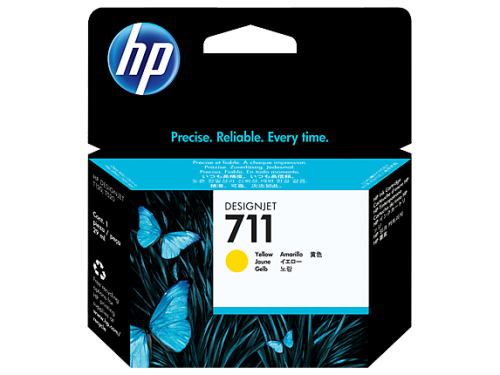 HP CZ132A 711 Yellow Ink 29ml