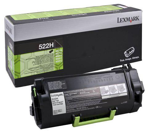 Lexmark 52D2H00 522H Black Toner 25K