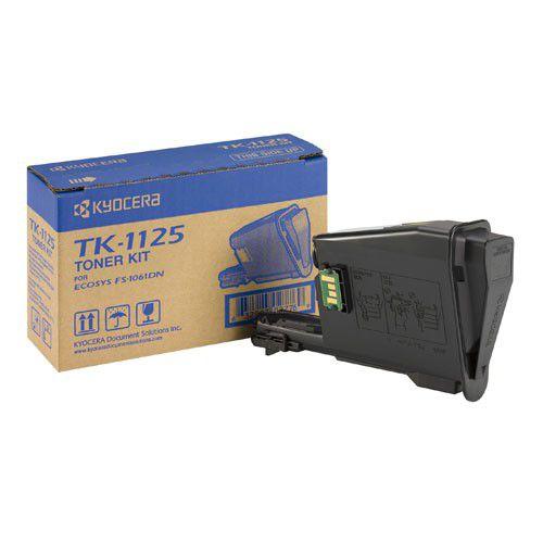 Kyocera 1T02M70NL0 TK1125 Black Toner 2.1K
