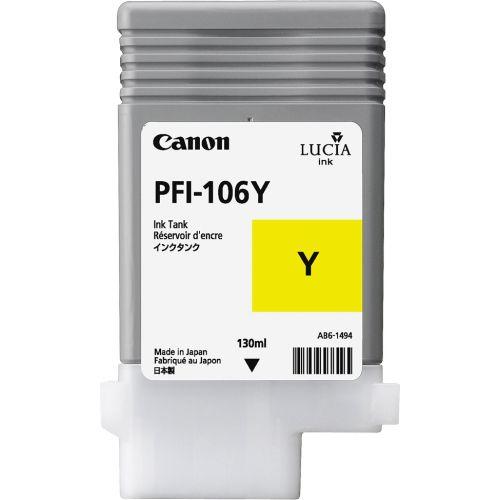 Canon 6624B001 PFI106 Yellow Ink 130ml